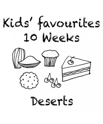 Combo 10 weeks - Deserts