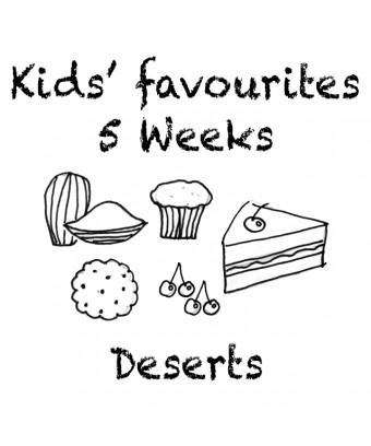 Combo 5 weeks - Deserts